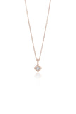Nia black diamond necklace