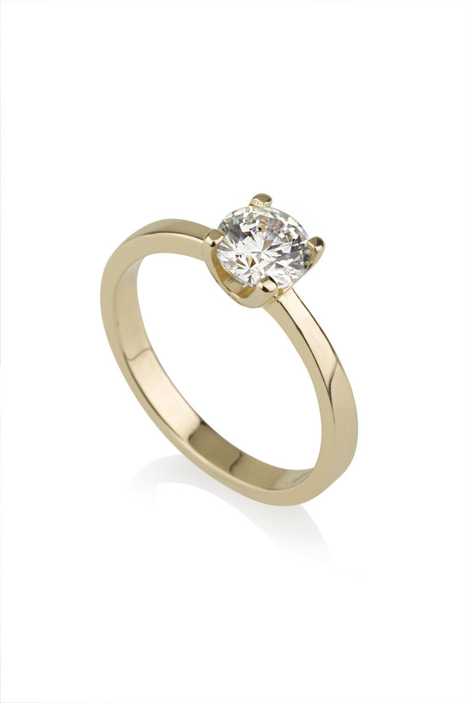 Or Ring / Diamond Engagement Ring