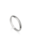 Wide Sabo Ring Trianguare Wedding Band