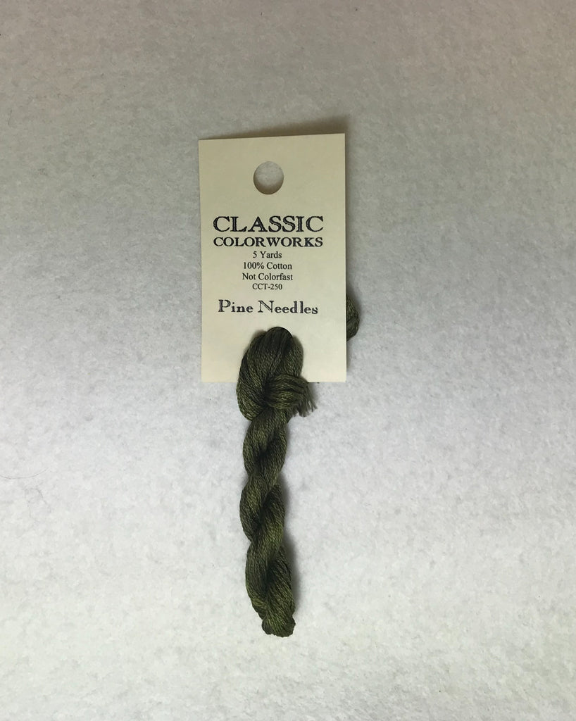 Classic Colorworks 250 Pine Needles