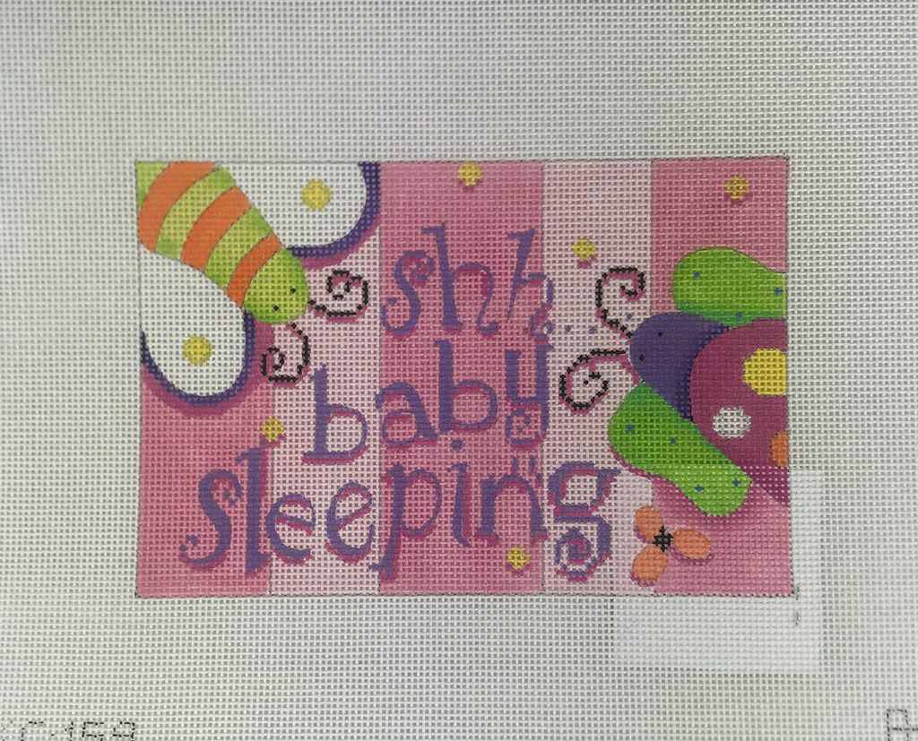 Associated Talents, Inc. KC159 Girls Stuff Sleeping Sign