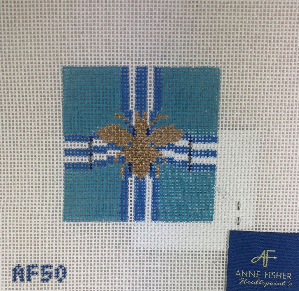 Anne Fisher Needlepoint AF50 Bee Insert
