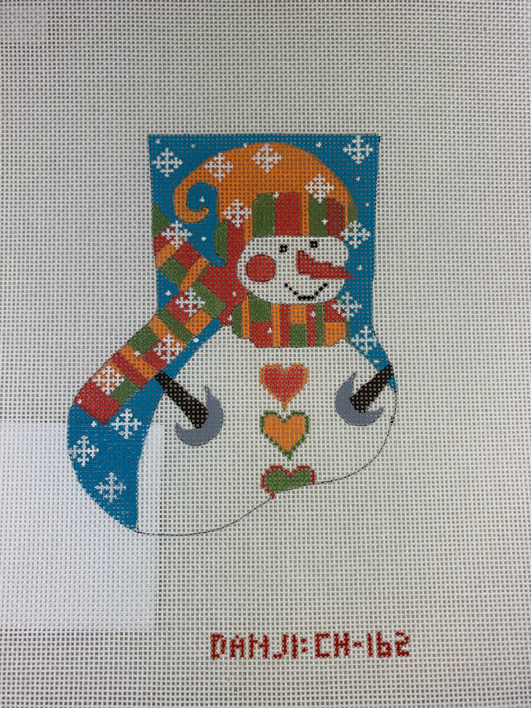 Danji Designs CH162 Snowman Mini Stocking