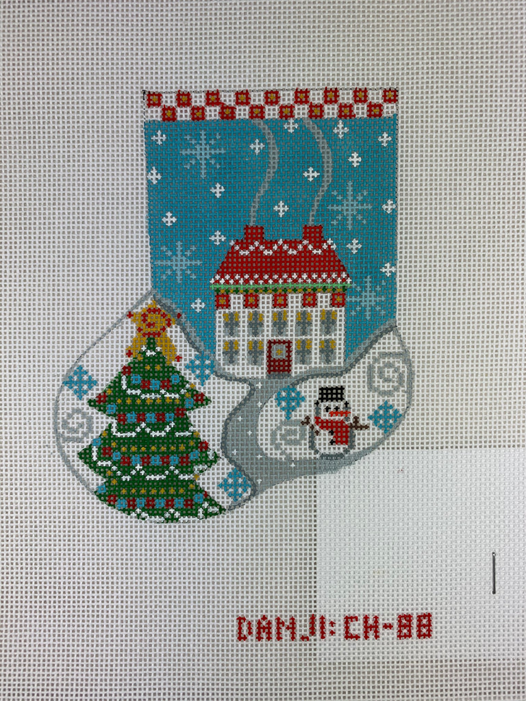 Danji Designs CH88 House Mini Stocking