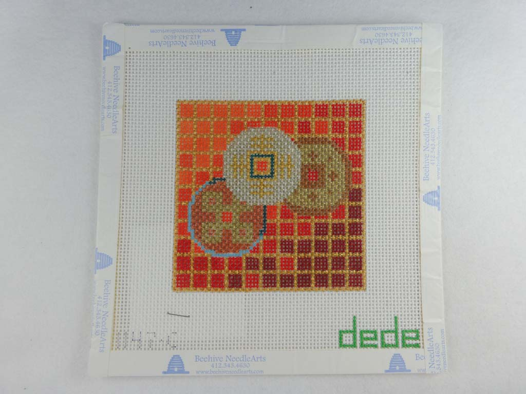 Dede Red Mosaic Coaster