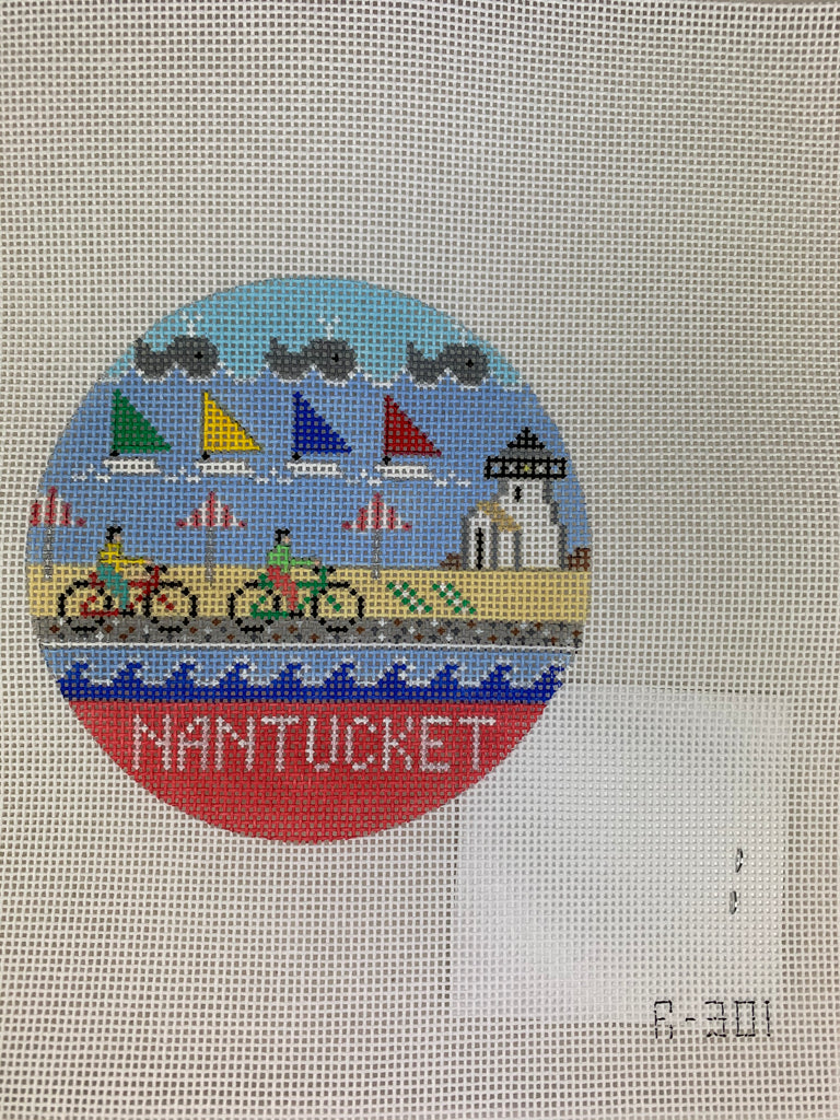 Doolittle Stitchery R301 Nantucket Round