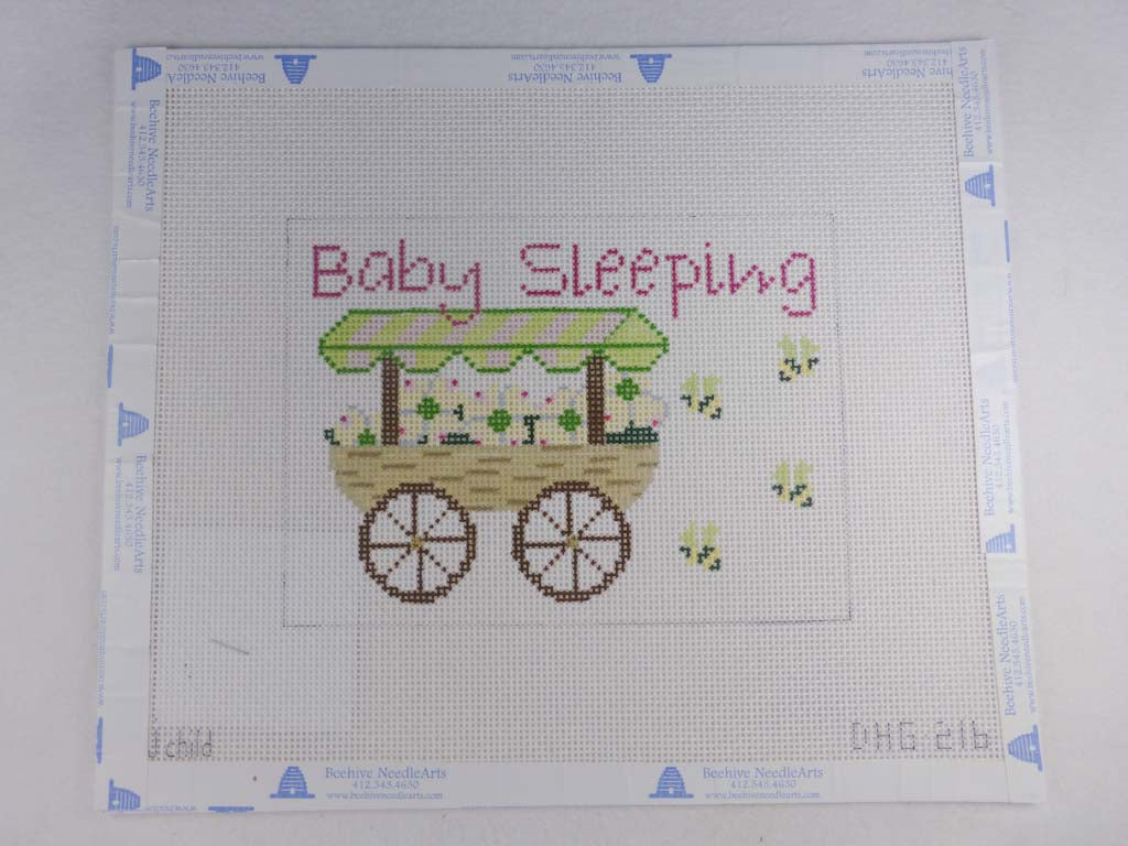 J. Childs Designs dhg216 Flower Cart Baby Sleep