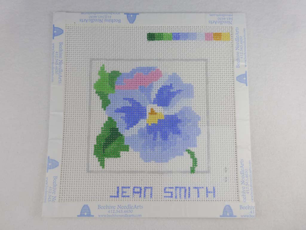 Jean Smith's Design 1-C Pansy Blue