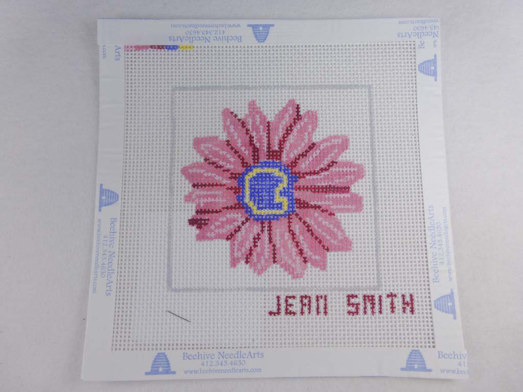 Jean Smith's Design 118C-4 Floral Friends Coaster #4
