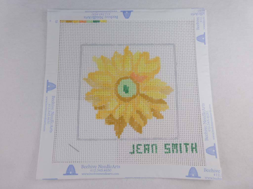 Jean Smith's Design 118C-5 Floral Friends Coaster