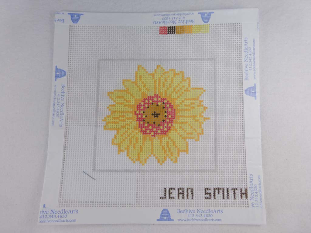 Jean Smith's Design 180C Yellow Sunflower