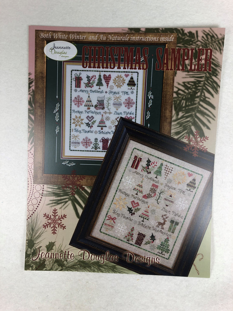 Jeannette Douglas Designs JD119 Christmas Sampler
