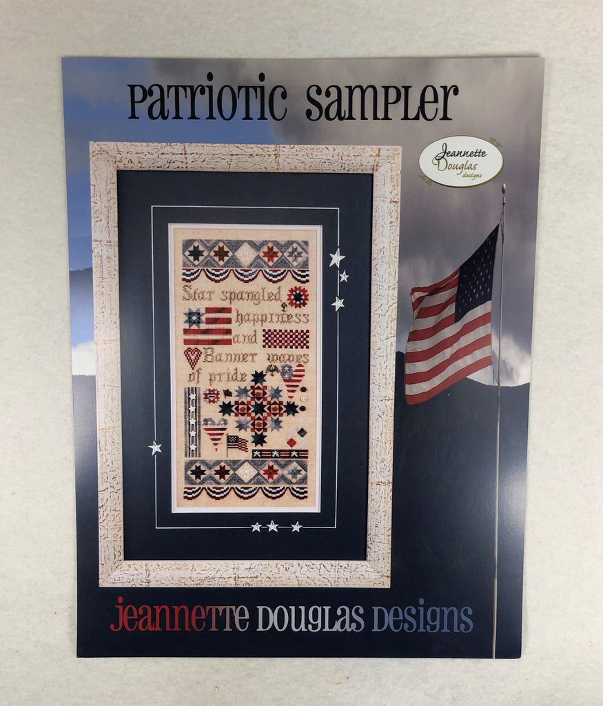 Jeannette Douglas Designs JD151 Patriotic Sampler
