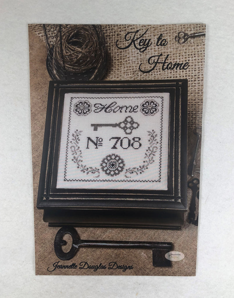 Jeannette Douglas Designs JD170 Key to Home