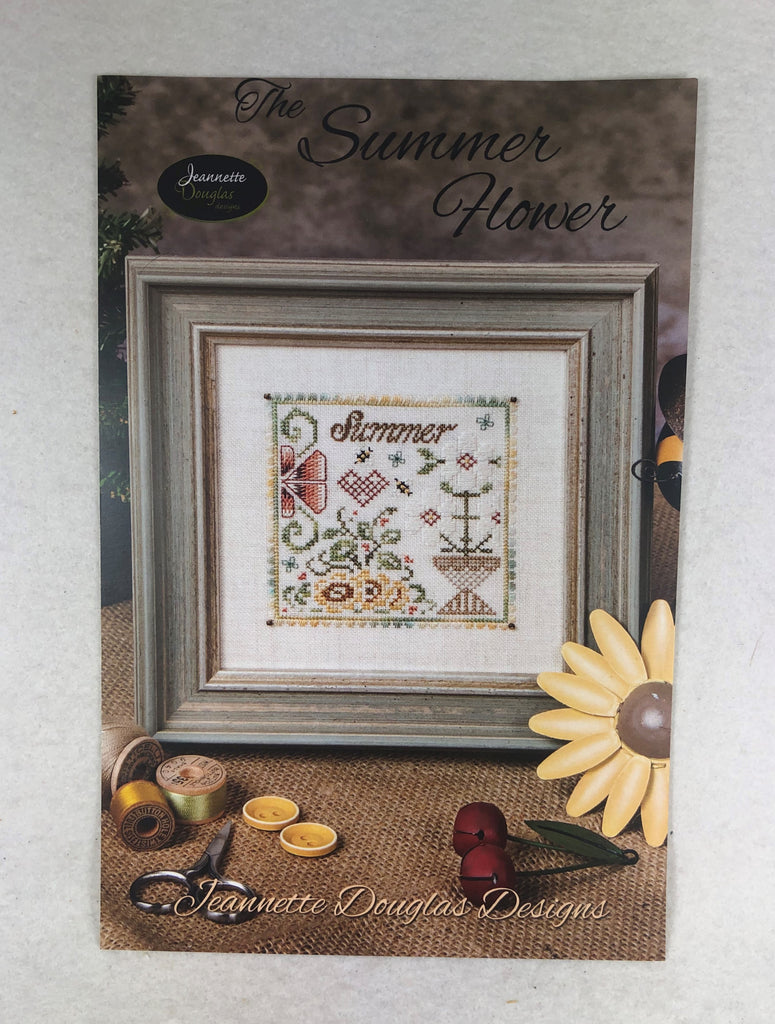 Jeannette Douglas Designs JD175 The Summer Flower