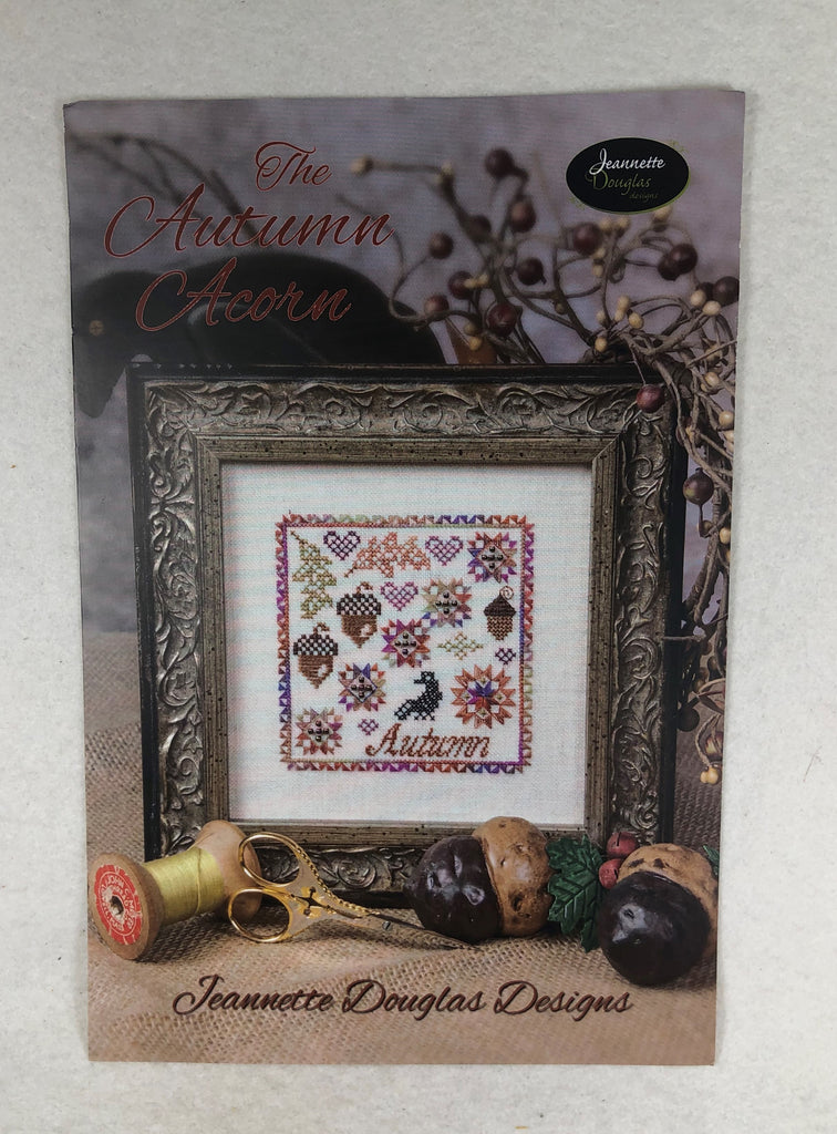 Jeanette Douglas Designs JD177 The Autumn Acorn