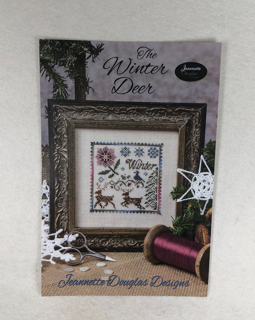 Jeannette Douglas Designs JD 181 The Winter Deer