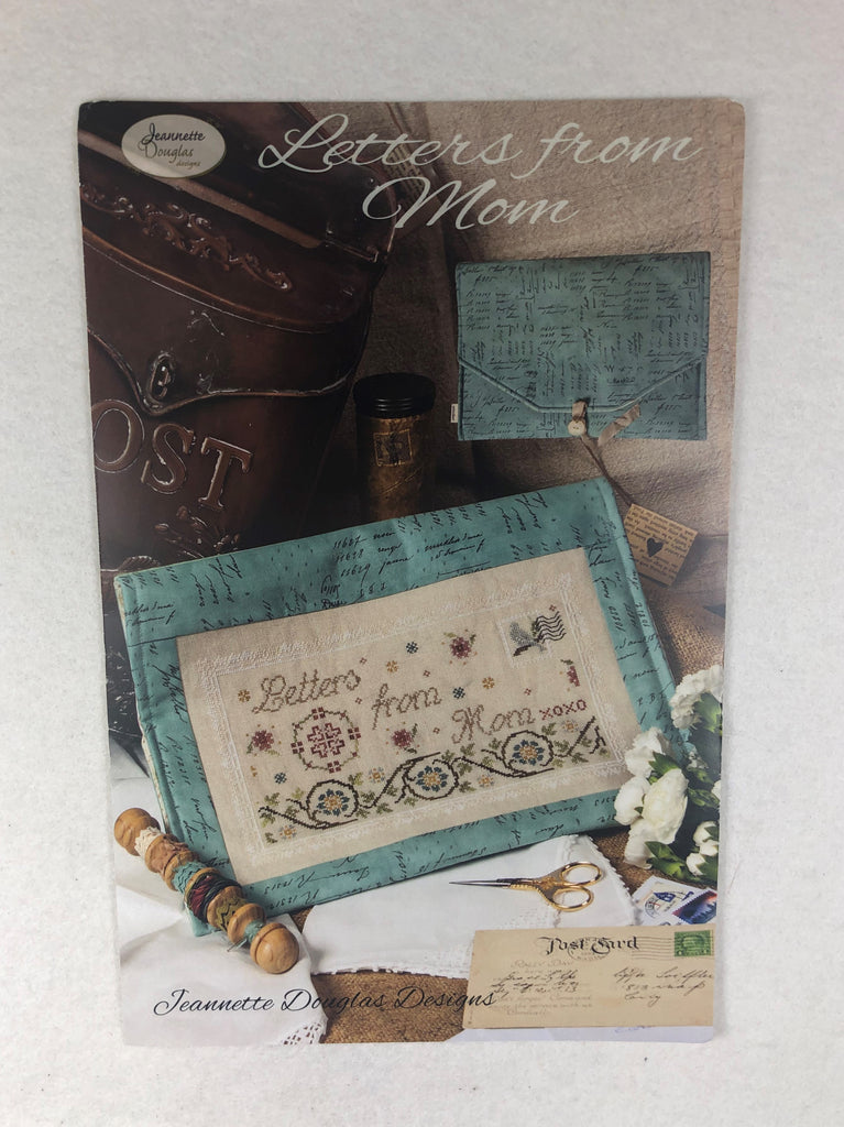 Jeannette Douglas Designs JD218 Letter from Mom Sampler