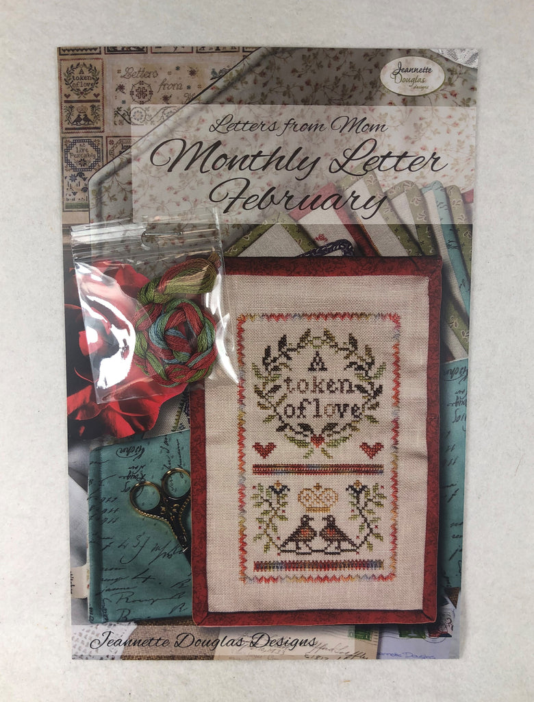 Jeannette Douglas Designs JD224 Monthly Letter February