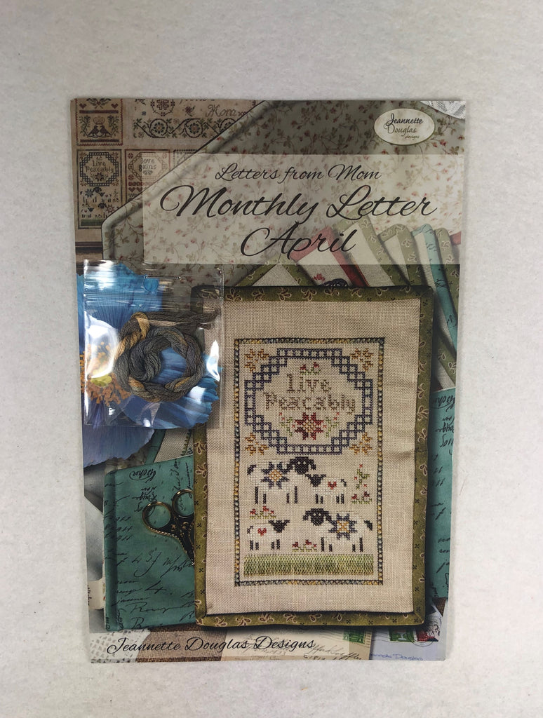 Jeannette Douglas Designs JD226 Monthly Letter April