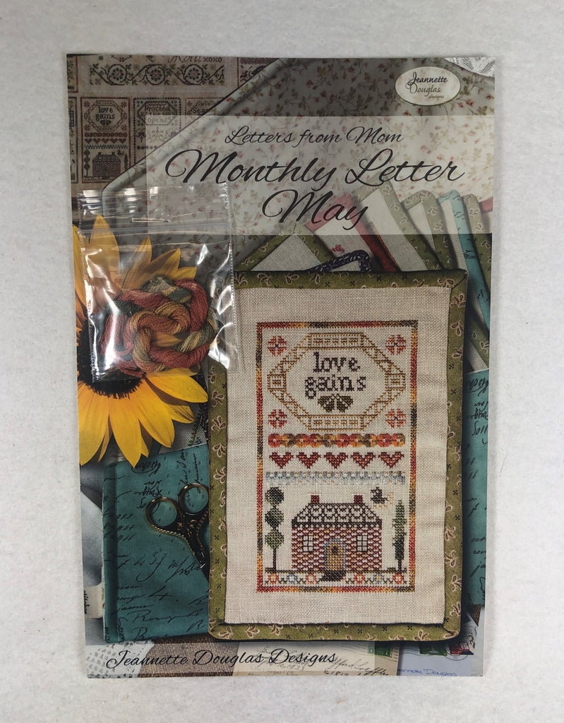 Jeannette Douglas Designs JD227 Monthly Letter May