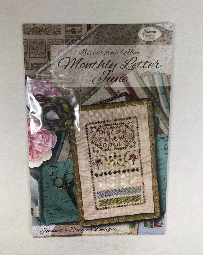 Jeannette Douglas Designs JD228 Monthly Letter June