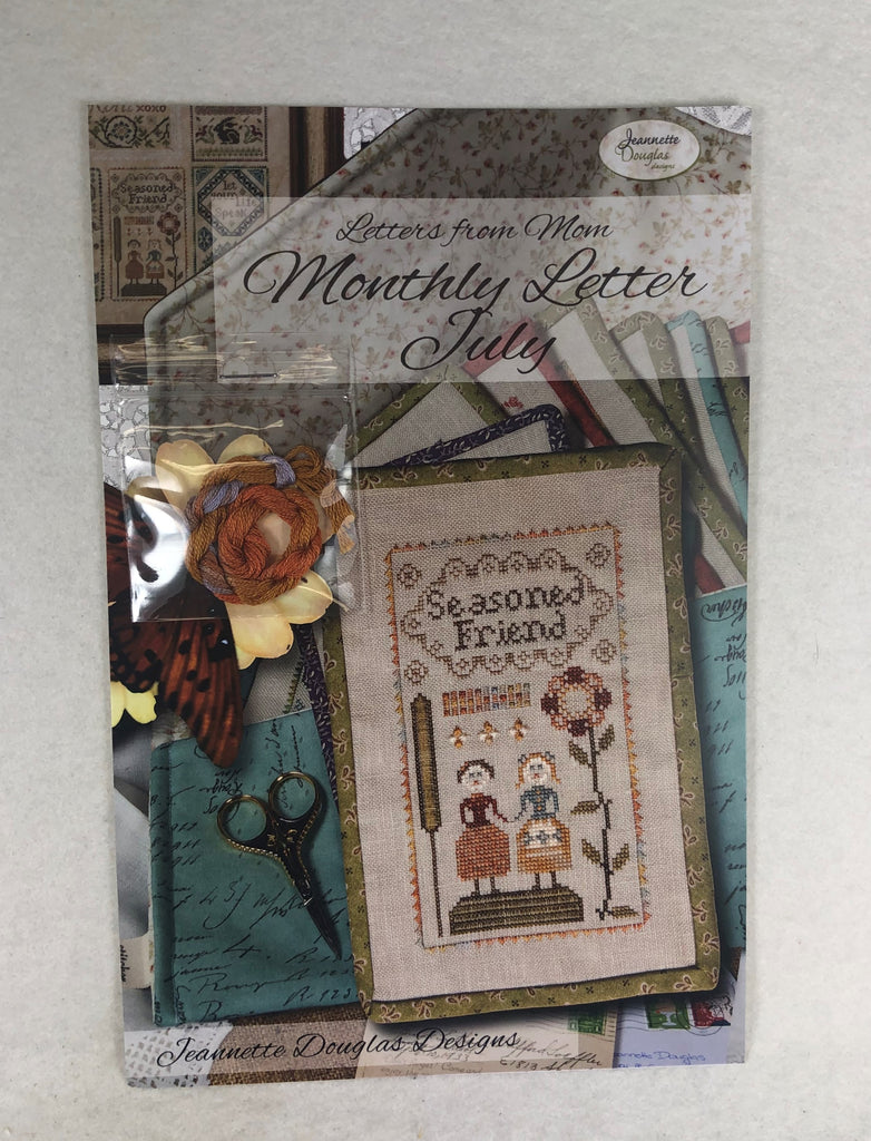 Jeannette Douglas Design JD229 Monthly Letter July