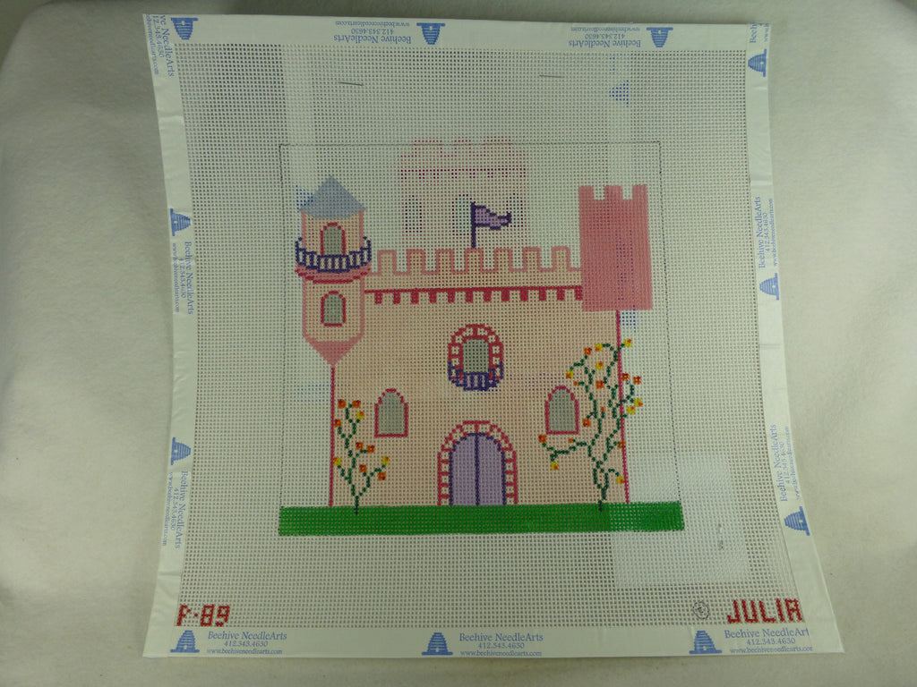 Julia's Needleworks PO89 Castle Tooth Fairy Pillow