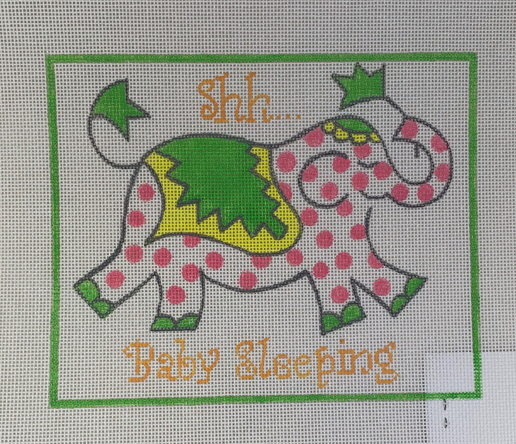 Kate Dickerson Needlepoint JW- DH-02 Shh Baby Sleeping