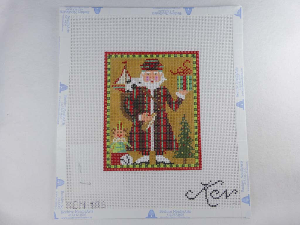 Kelly Clark Studio KCN 106 Scottish Santa