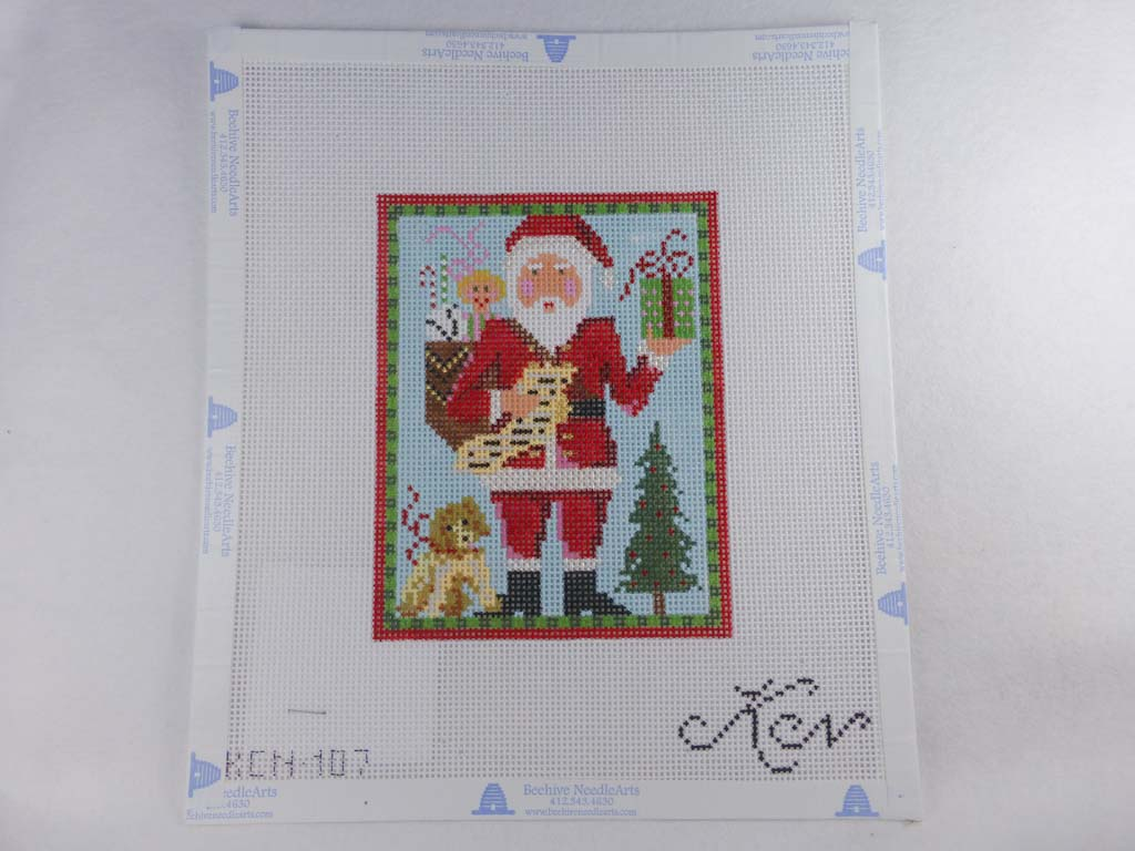 Kelly Clark Studio KCN 107 Classic Santa with Puppy