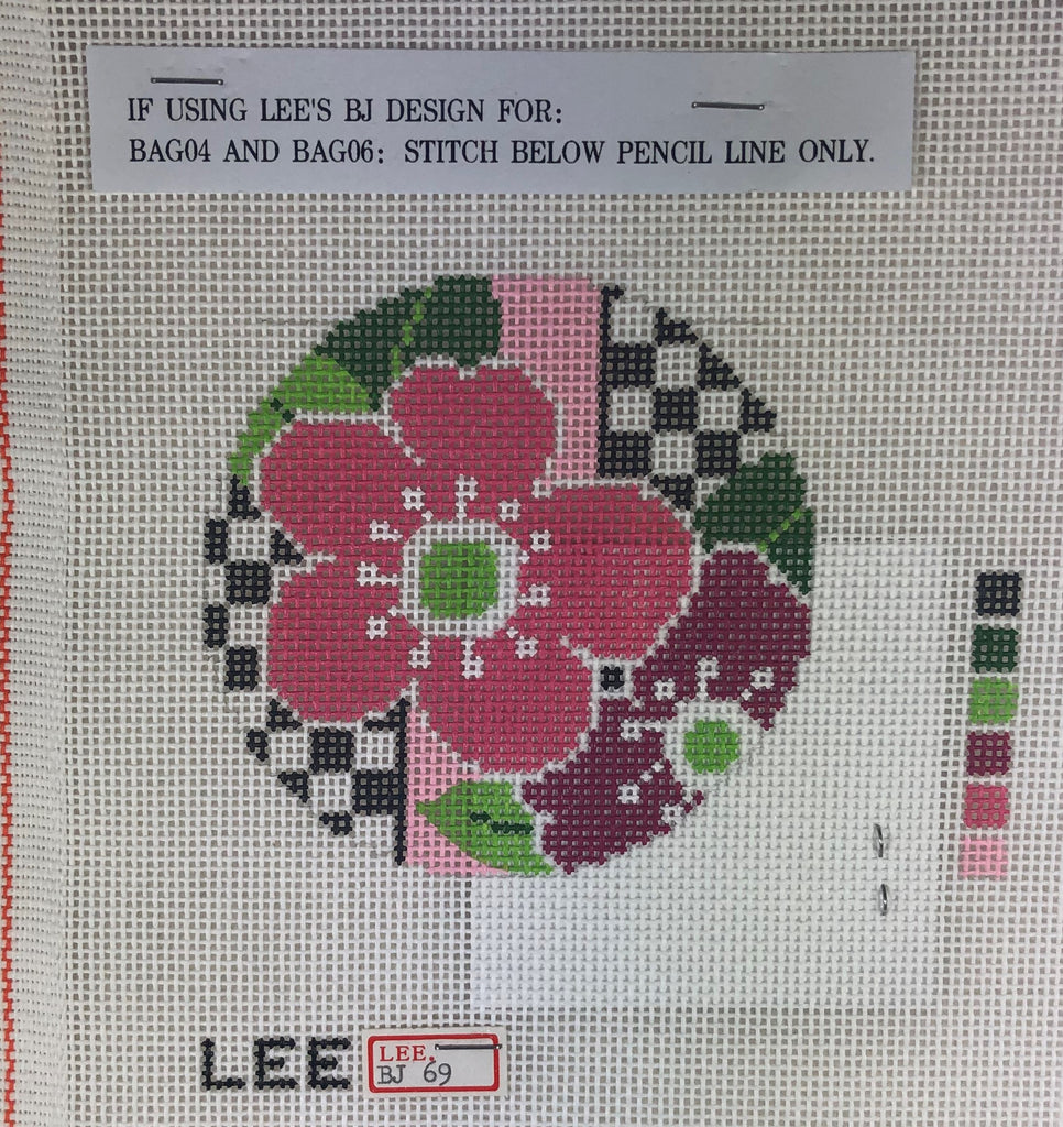 Lee's Needle Arts BJ 69 Pink Floral