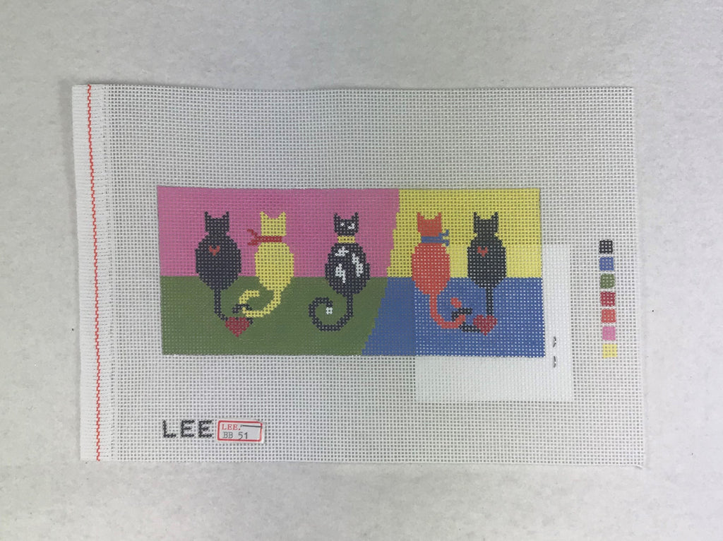 Lee's Needle Arts BB51 5 Cats
