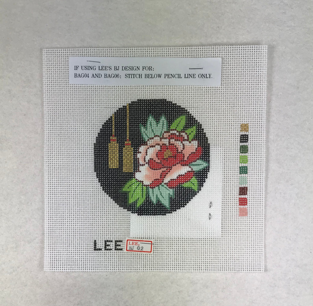 Lee's Needle Arts BJ02 Peony