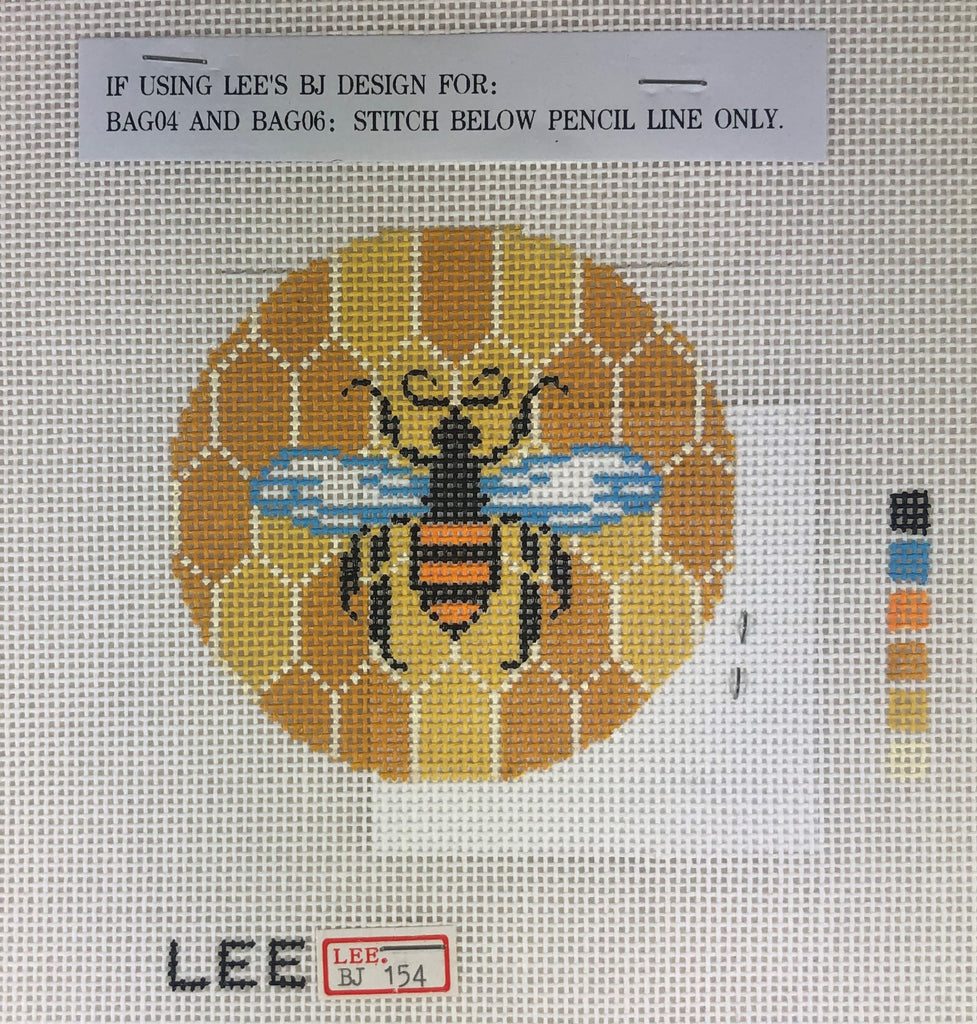 Lee's Needle Arts BJ154 Bee & Hive