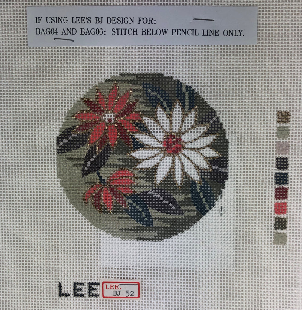Lee's Needle Arts BJ52 Chrysantheum