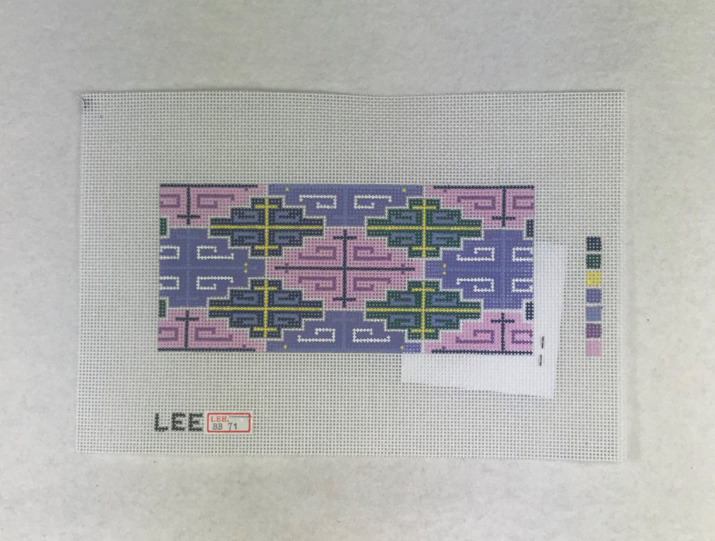 Lee's Needle Arts BB71 Purple Geometric