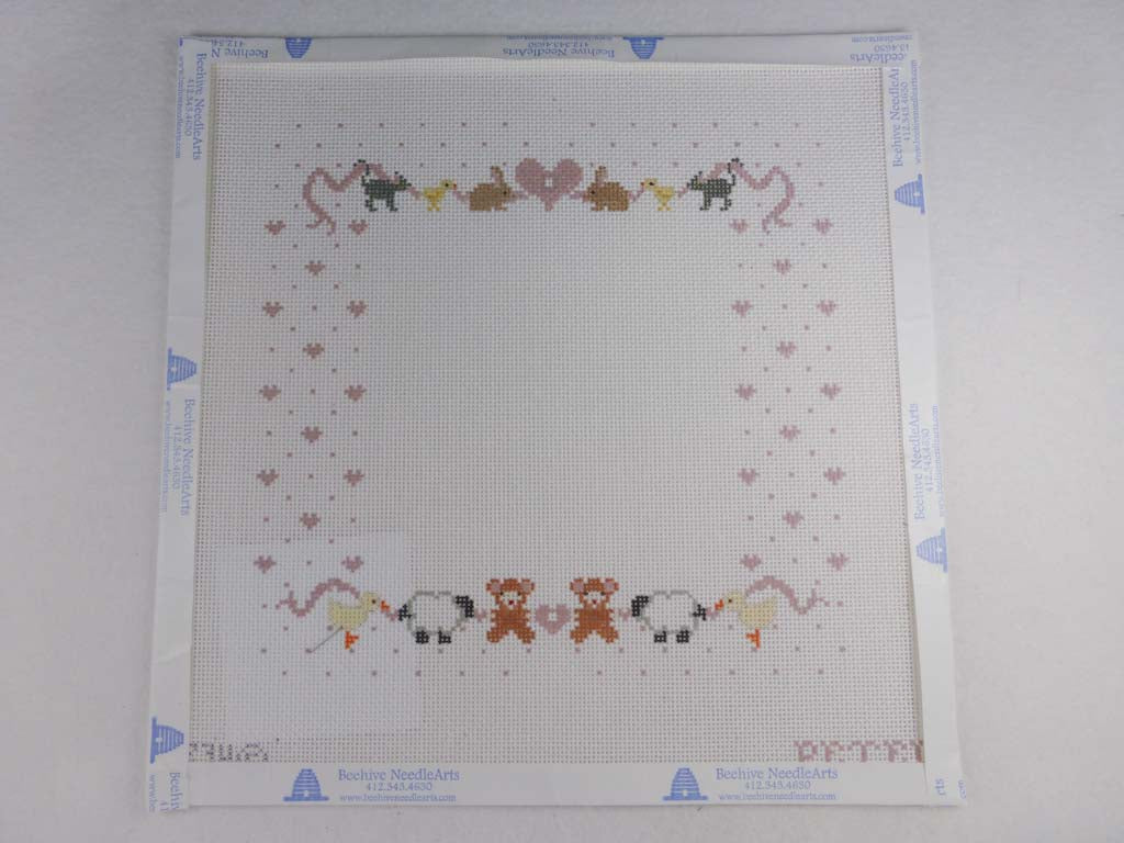 Painted Pony Designs PT234 Girl Sampler