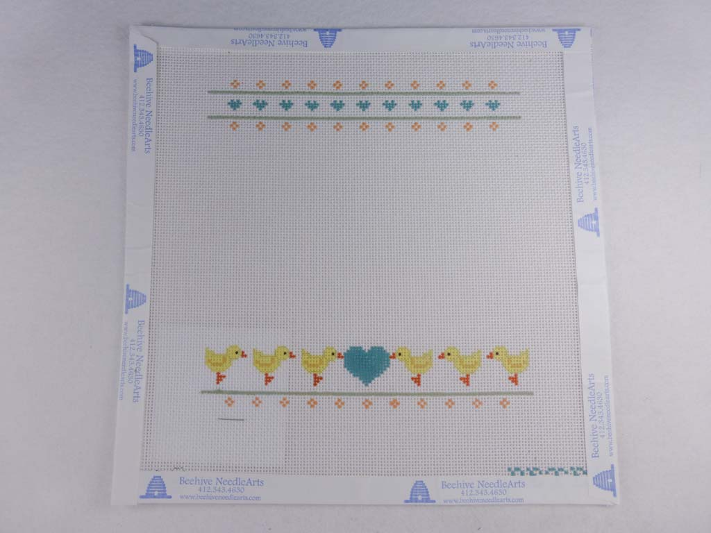 Painted Pony Designs PT283 Duck Sampler