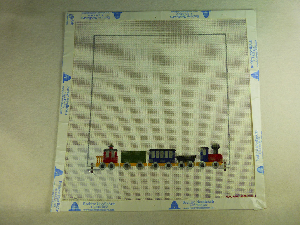 Painted Pony Designs PT557 Train Sampler