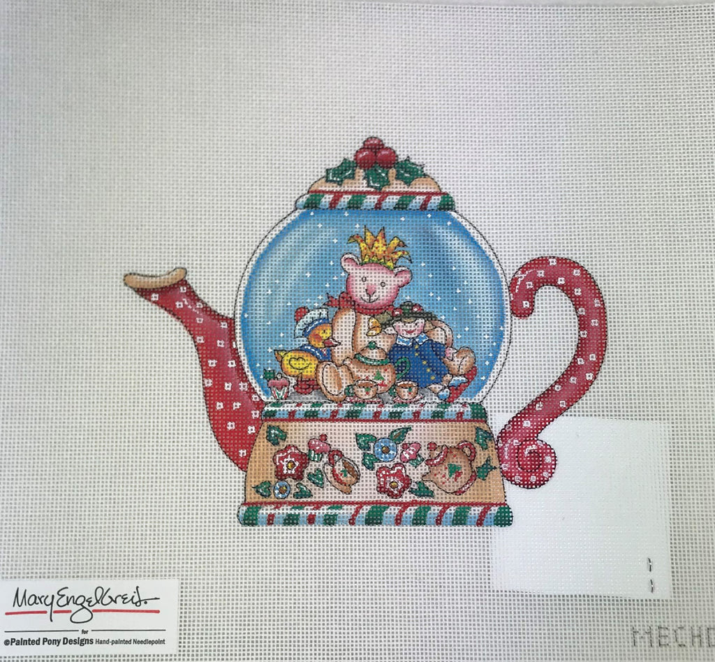 Painted Pony Designs 251 ME CH08 Teapot Mary Engelbert