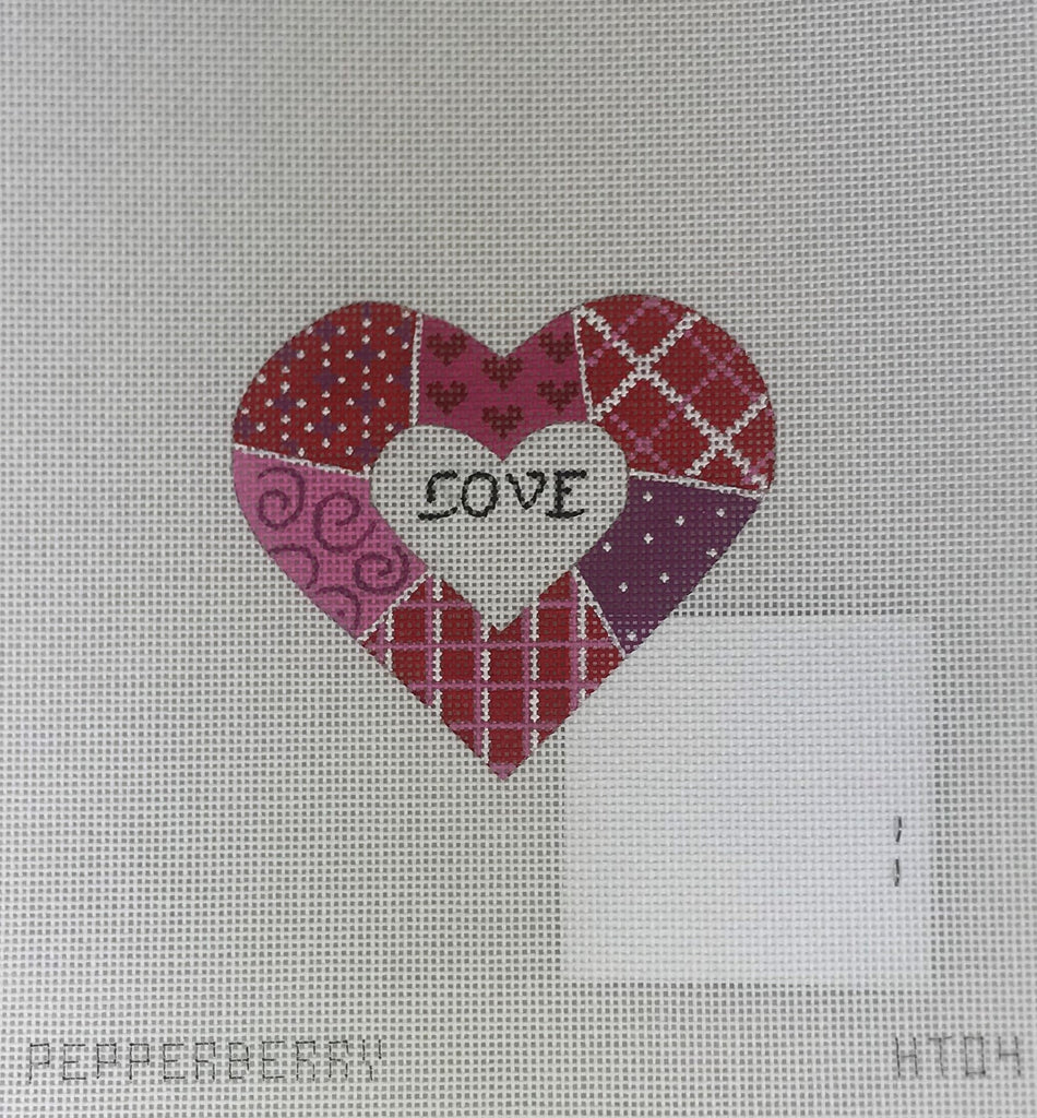 Pepperberry Designs 256 Red + Pink Patchwork