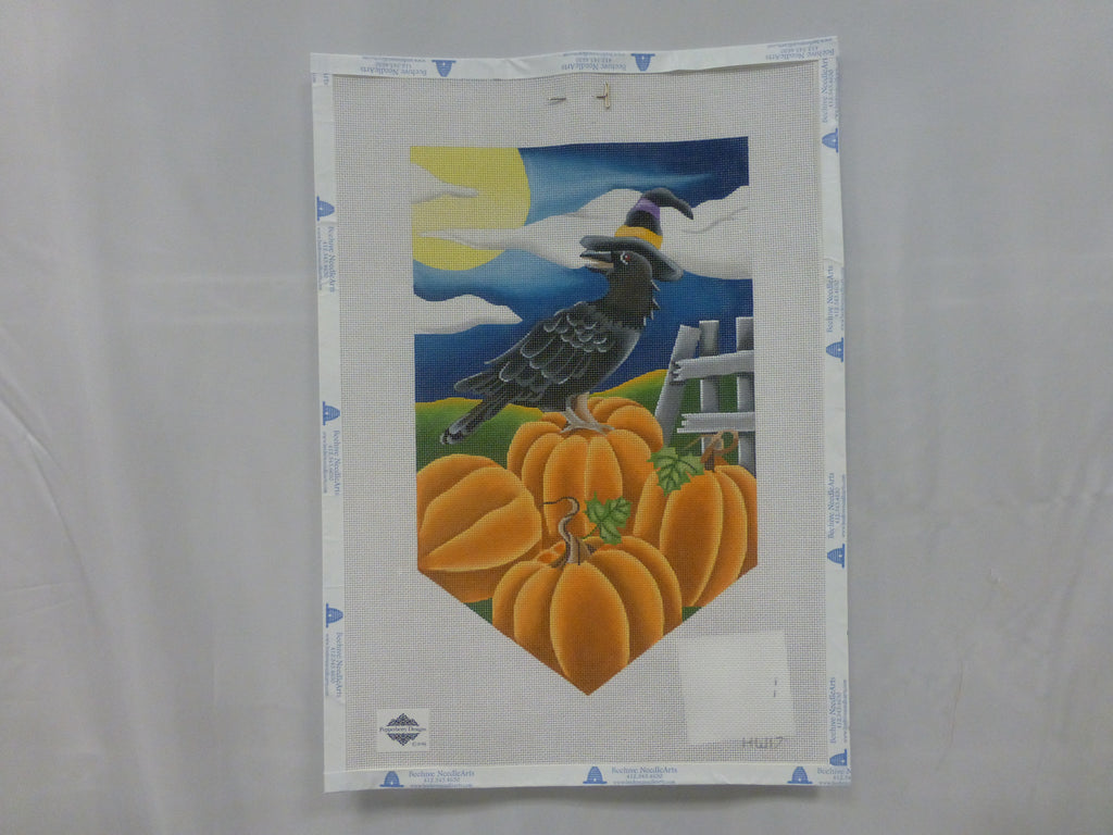 Pepperberry Designs HW17 Crow Banner