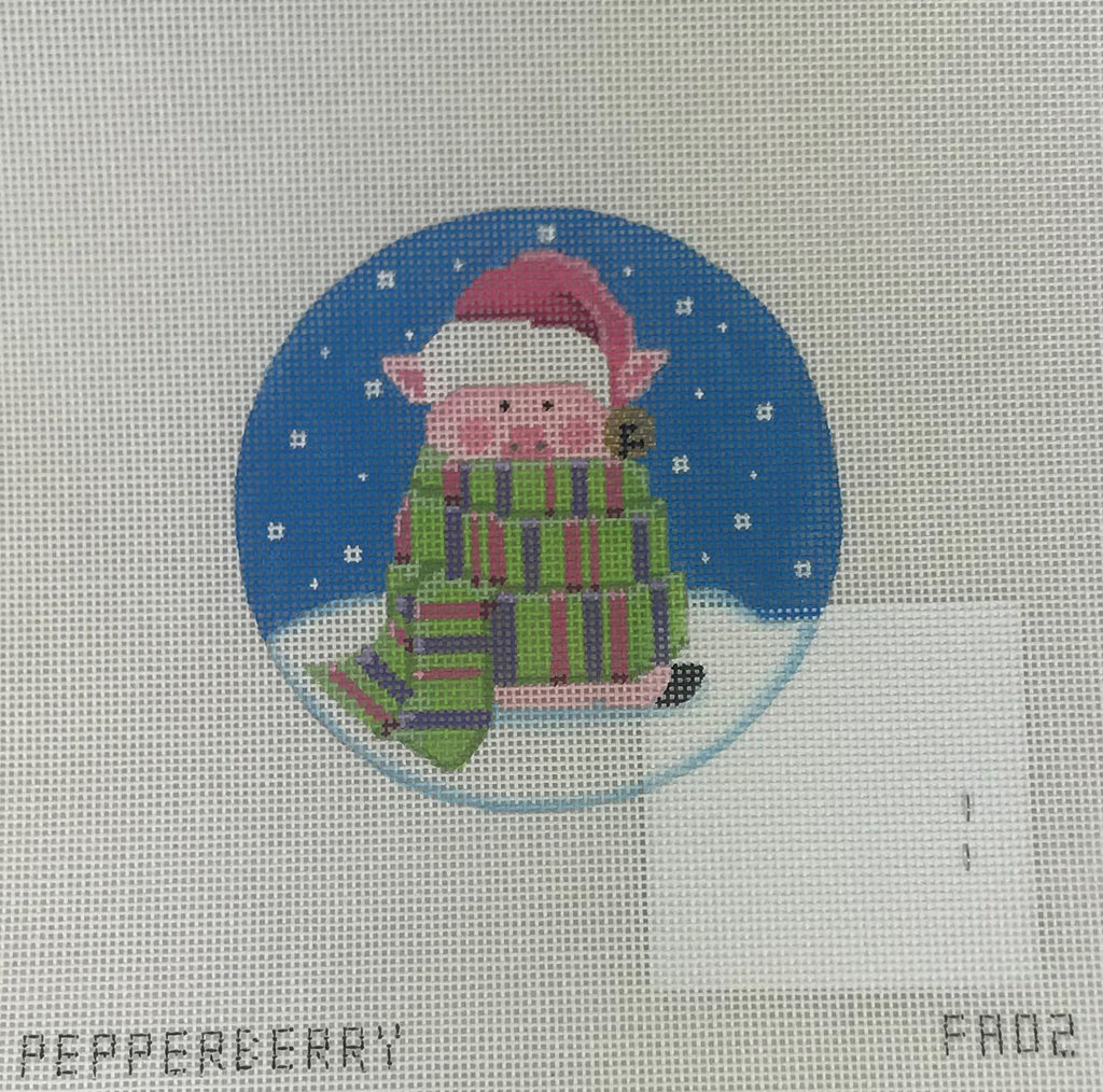 Pepperberry Designs 256 All Wrapped Up Pig