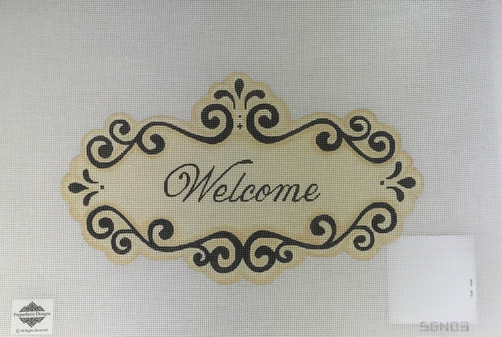 Pepperberry Designs 256 Welcome Sign