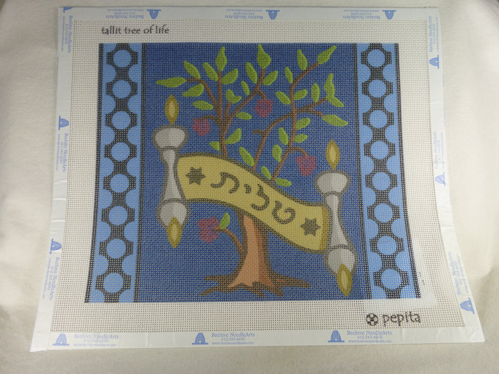 Pepita Creations Tree of Life Tallit
