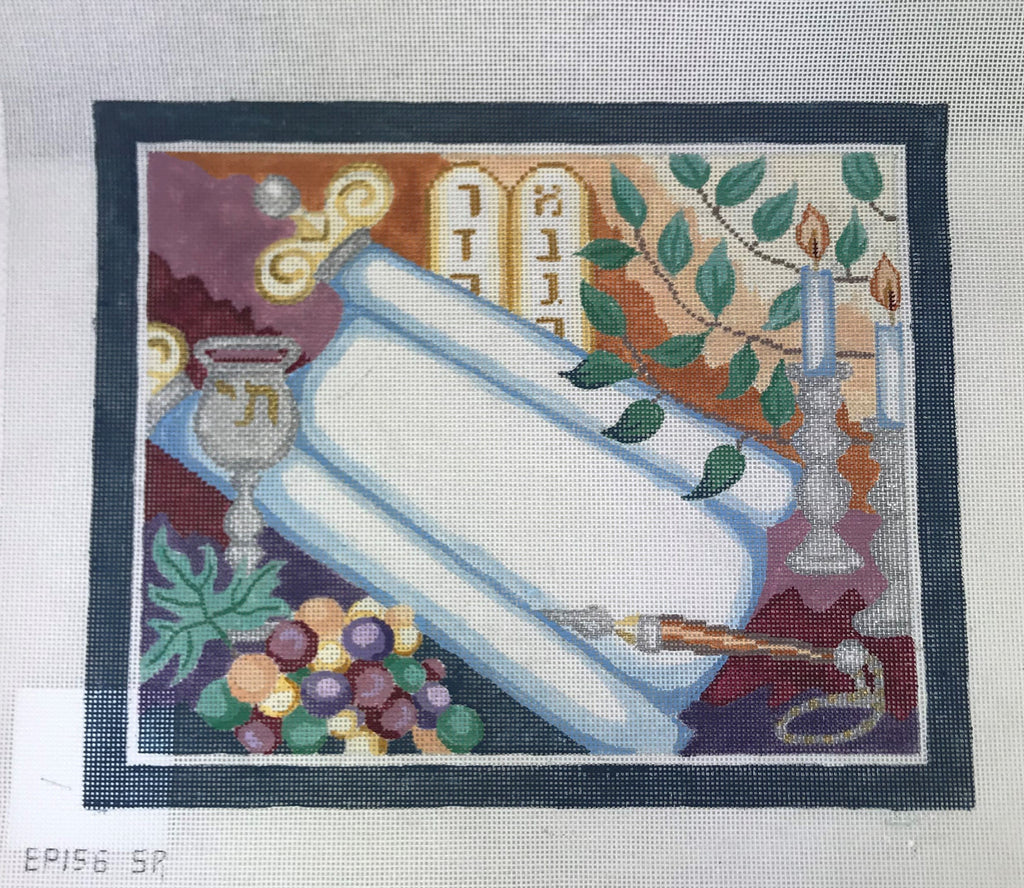 Susan Roberts Needlepoint Design EPO156 Traditions Tallis