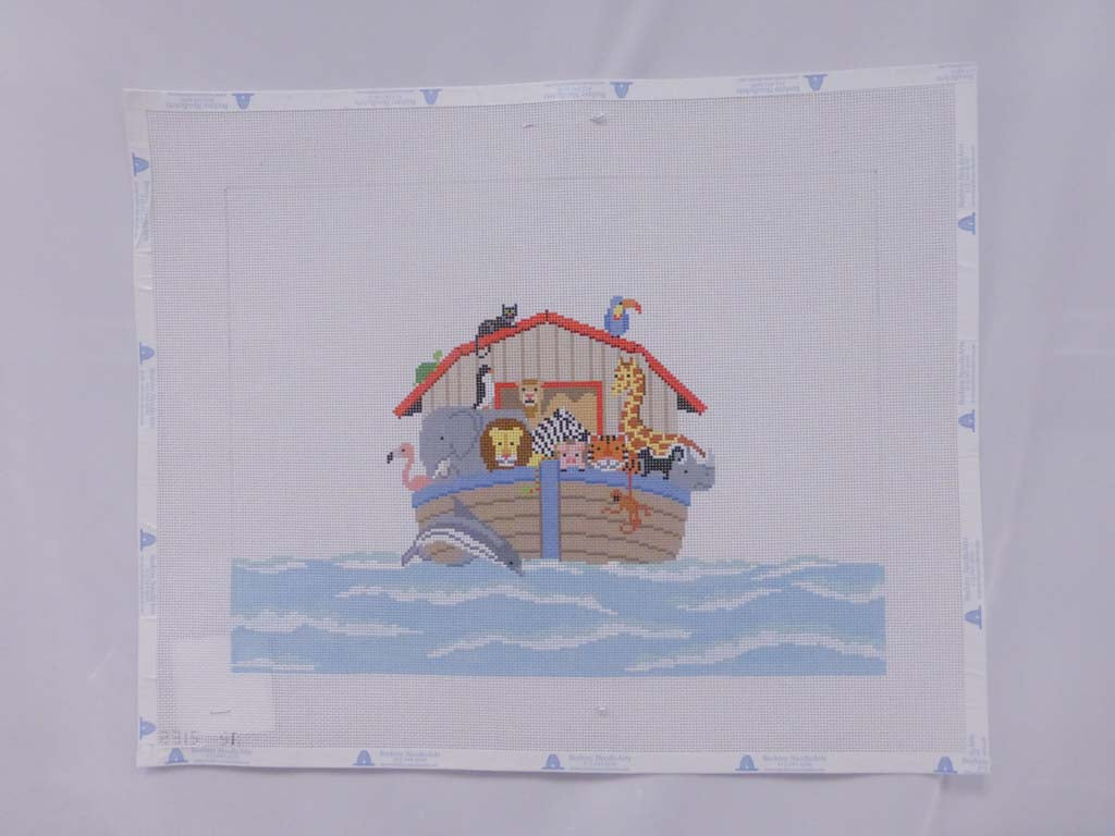 Susan Roberts Needlepoint Design 2315 Noah's Ark Child Seat