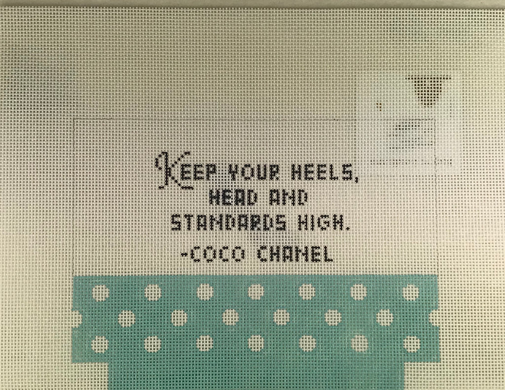 Kimberly Ann Needlepoint MB 04 Coco Chanel