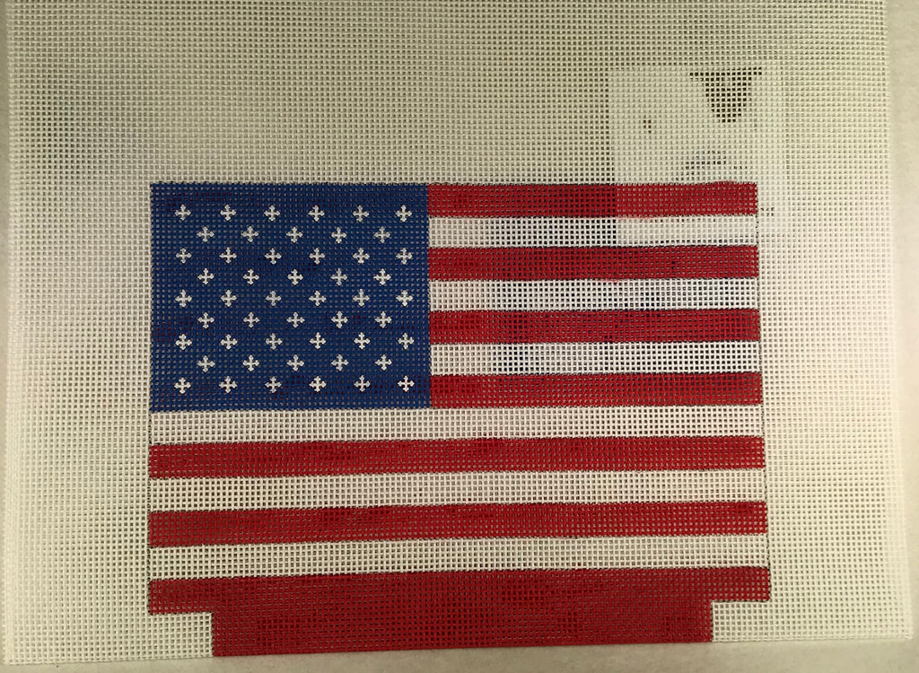 Kimberly Ann Needlepoint MB 11 American Flag
